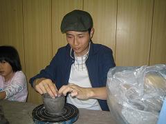 陶器作り1