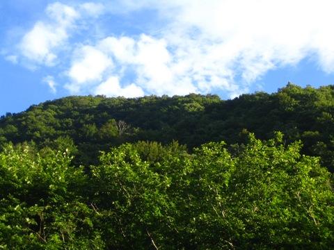 山田温泉の空