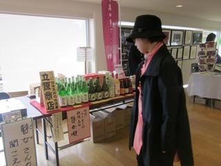 高田瞽女芝居に出店
