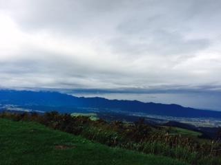 光ヶ原高原からの眺め