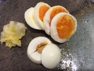 茹で卵の糠漬け