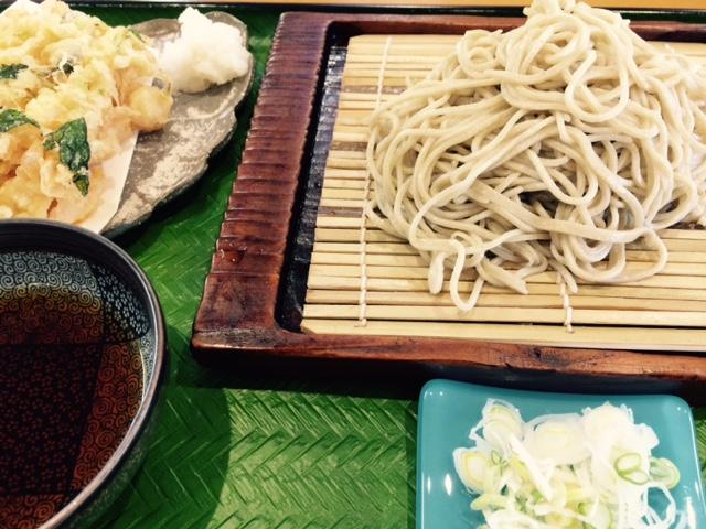 高橋さんの蕎麦