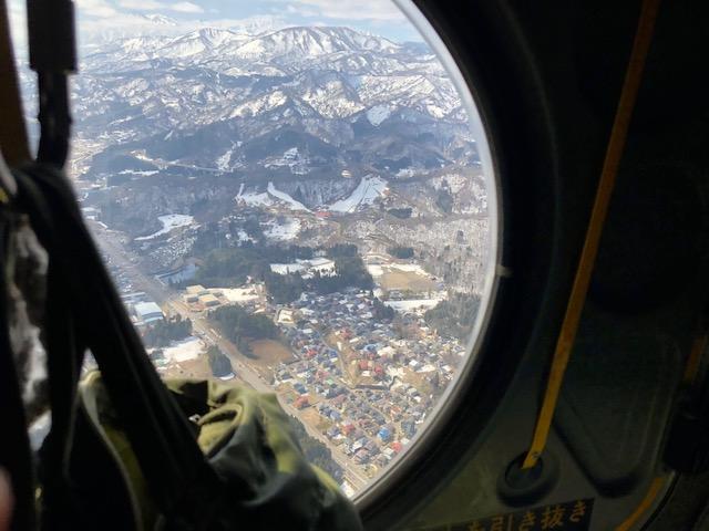 ヘリコプター搭乗体験