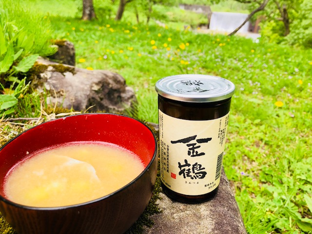 竹の子と金鶴