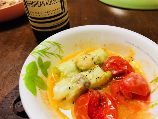 トマトネギチーズ