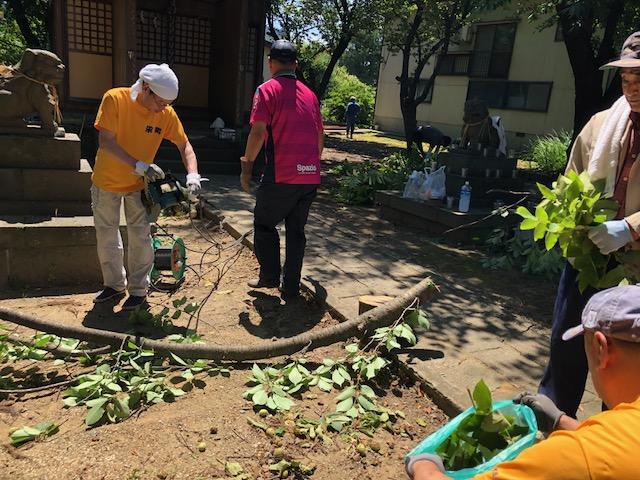 栄町神社整備
