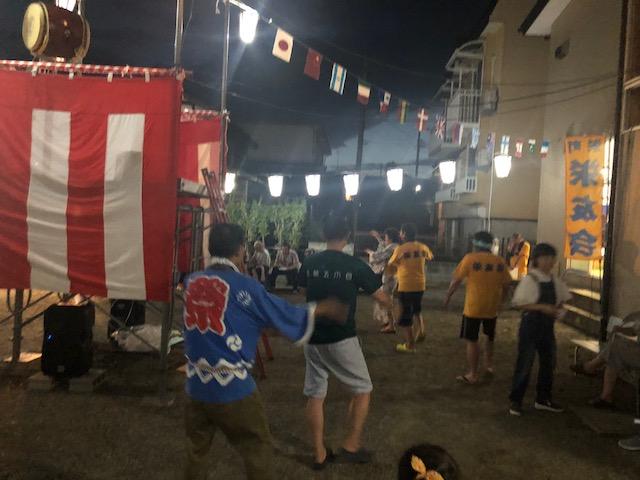 栄友会盆踊り