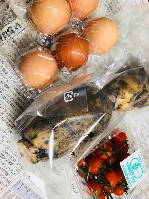 八百屋の土田さんの野菜