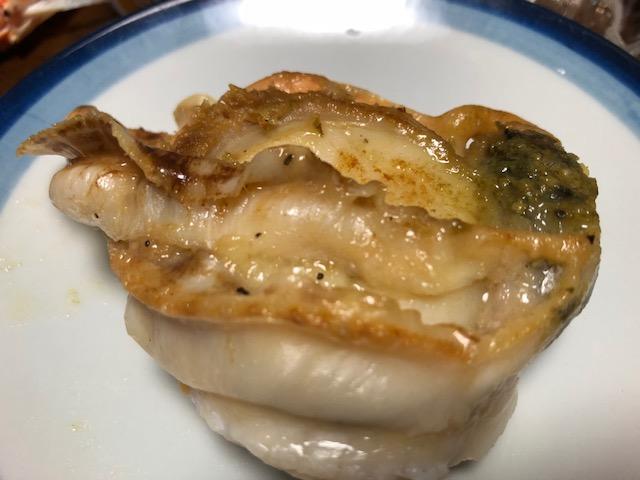 帆立貝のソテー