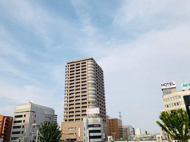高崎の駅前