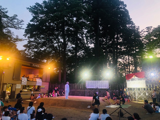 奉納ちびっこ相撲大会