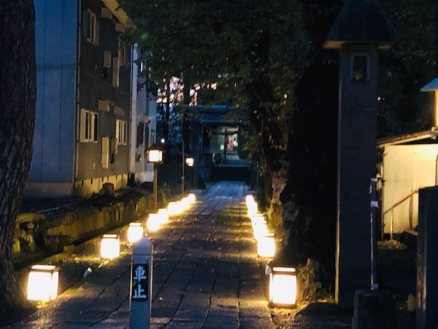 陀羅尼八幡神社秋祭り