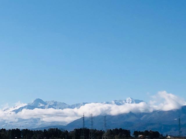 妙高山の冬景色