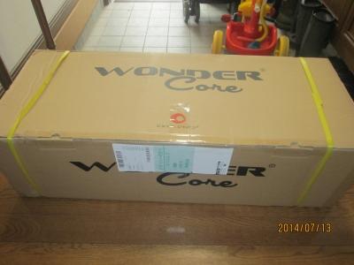 ショップジャパンよりワンダーコアが届きました。