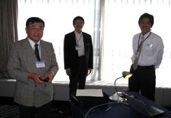 講師を務める2500地区小船井PGと笹谷さん