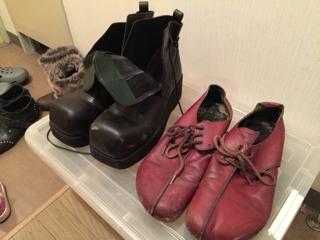 革靴 カビキラー カビ