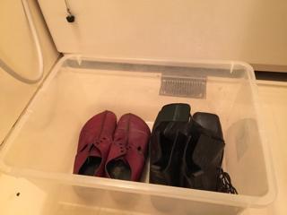 革靴 丸洗い