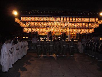 玉串奉納の儀式