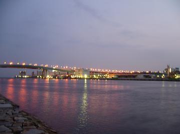 芦屋港の夕景