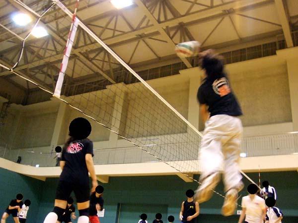 男女混合バレーボール大会