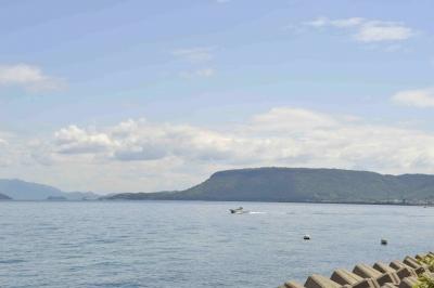 屋島とボート
