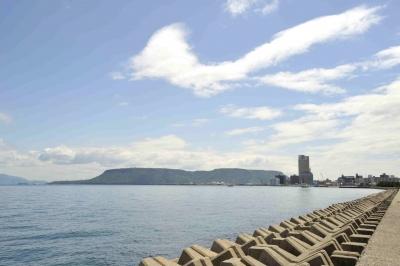 屋島とサンポート
