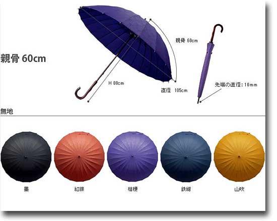 おしゃれ雨傘