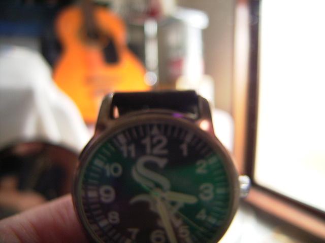 アニキからもらった時計