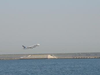 神戸空港の風景
