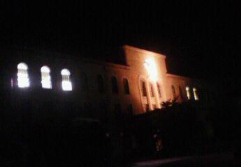 夜の校舎(本館)