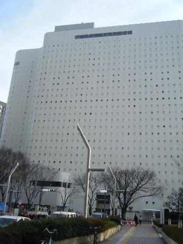 新宿ワシントンホテル外観