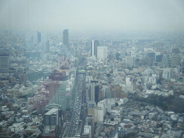 東京シティビュー 渋谷方面