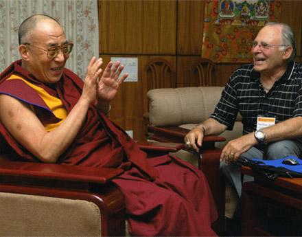 Dalai Lama and Paul Ekman