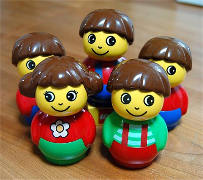 レゴ ベビーの人形