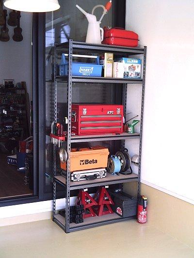 ガレージ棚