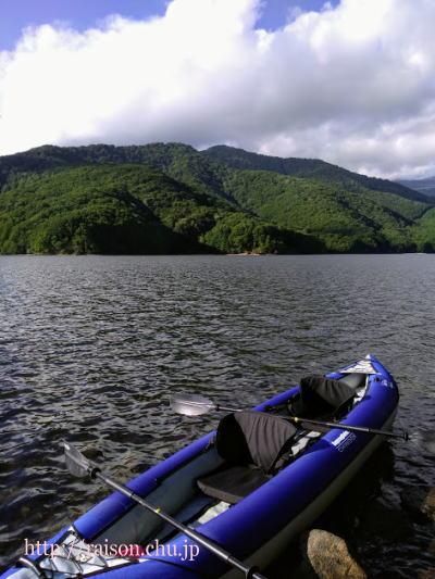 最高の景観、小野川湖。