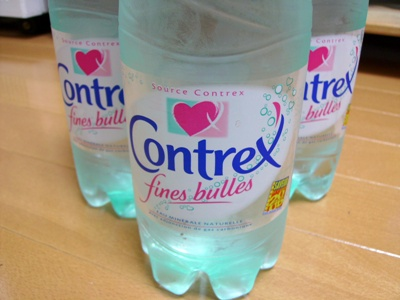 Contrex fines bulles コントレックス