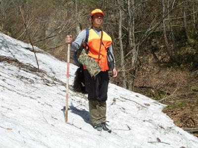 富山県利賀村の猟師、小島一隆さん