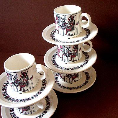 デッドストックのカップ&ソーサー