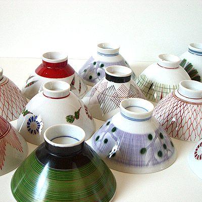 レトロな茶碗