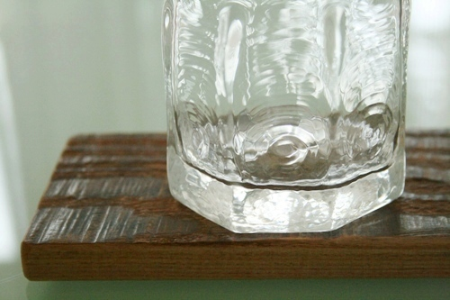 西山芳浩:八角グラス・中