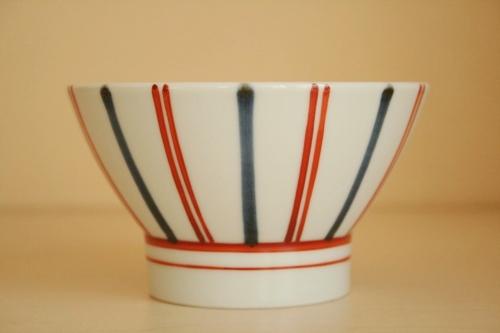 砥部焼・梅山窯:くらわんか茶碗