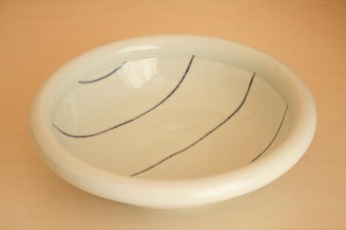 砥部焼・梅乃瀬窯:八寸玉縁鉢