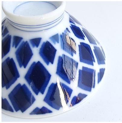 昭和レトロなお茶碗