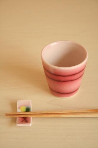 砥部焼・西山美貴子:サクラカップ