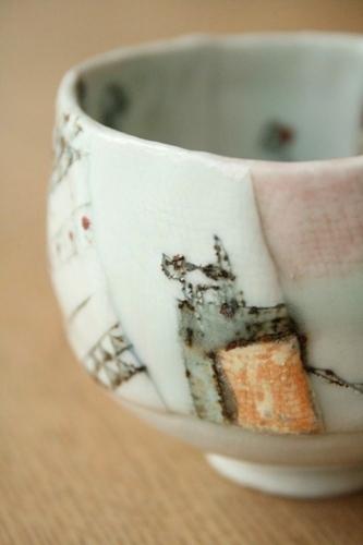 西山千代子:マグカップ〈はり合わせ〉