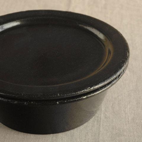 スタック鍋黒