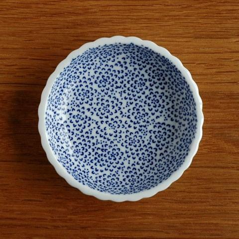 東屋 印判豆皿 ひまわり