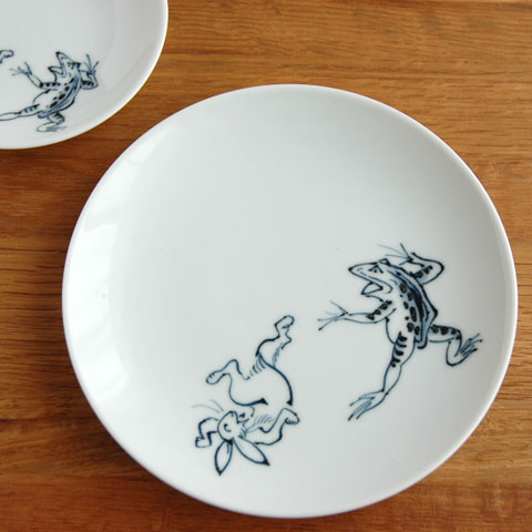 鳥獣戯画中皿