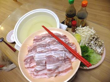 20141108豚バラ鍋
